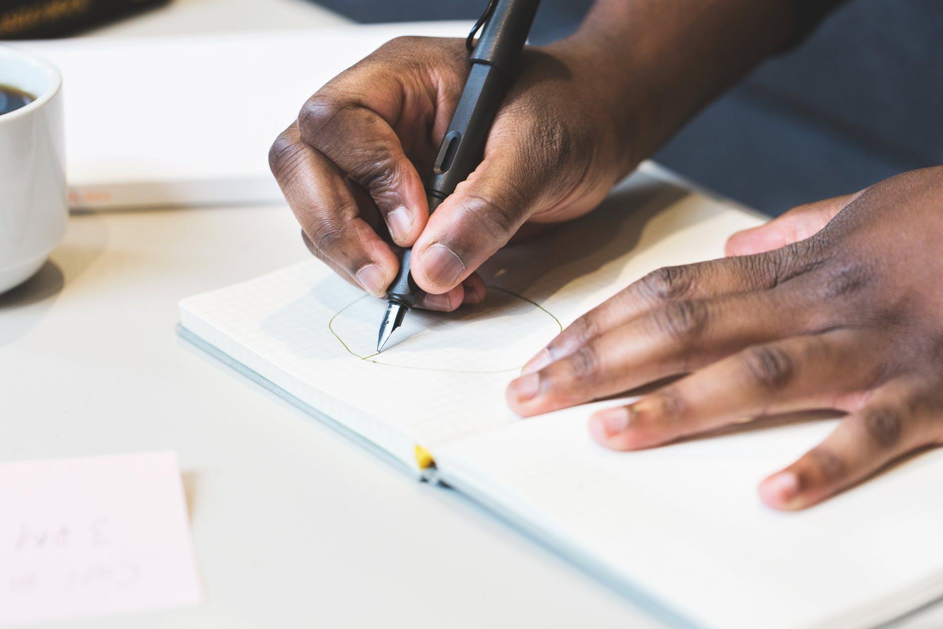 business composition creativity desk